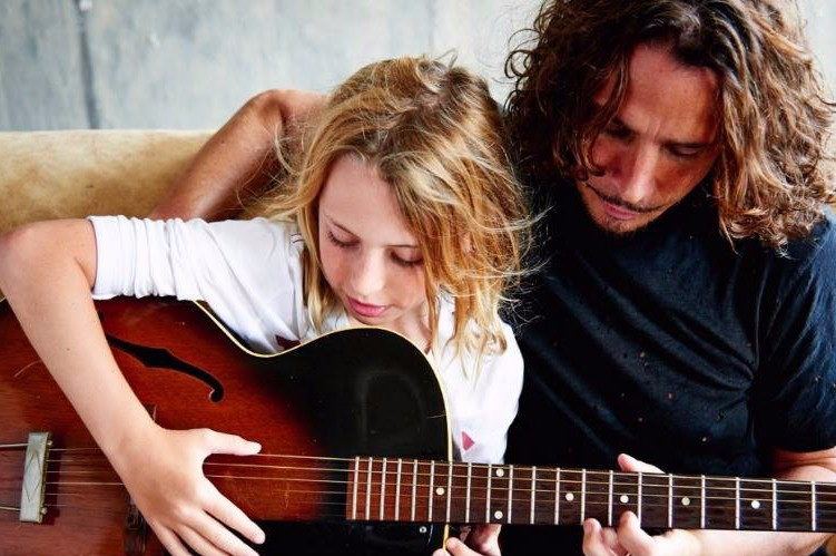 Chris Cornell And Daughter Toni Cornell Premieres Duet Song Prince S Nothing Compares 2 U Pm Studio World Wide Music News